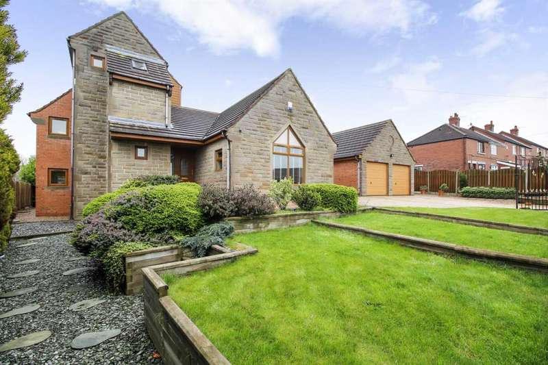 4 Bedrooms Detached House for sale in Westwood New Road, Tankersley