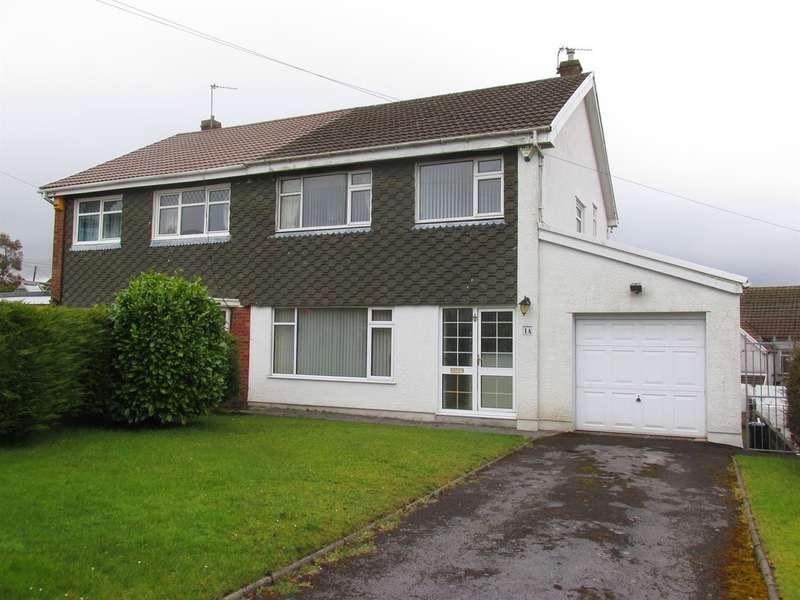 3 Bedrooms Semi Detached House for sale in Gwaunfarren Close, Merthyr Tydfil