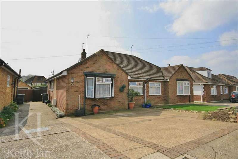 2 Bedrooms Semi Detached Bungalow for sale in Western Road, Nazeing