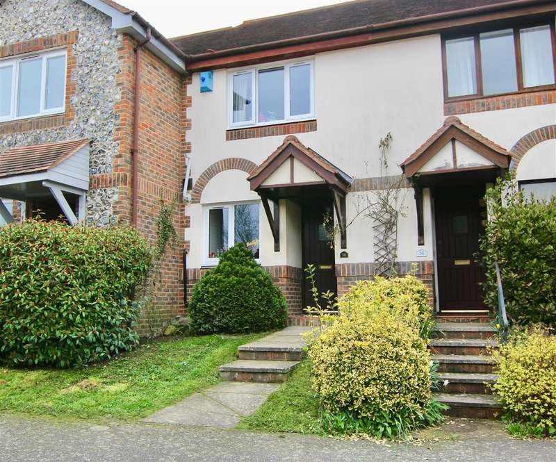 2 Bedrooms Terraced House for sale in Black Eagle Close, Westerham - with garage parking