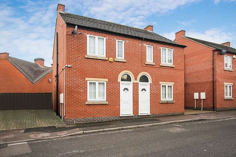 2 Bedrooms Semi Detached House for sale in Union Street, Bridgtown, Cannock, WS11