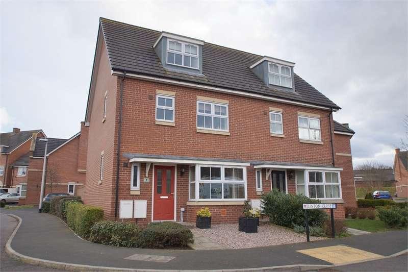 4 Bedrooms Semi Detached House for sale in CA1 2FJ Linton Close, off London Road, Carlisle, Cumbria