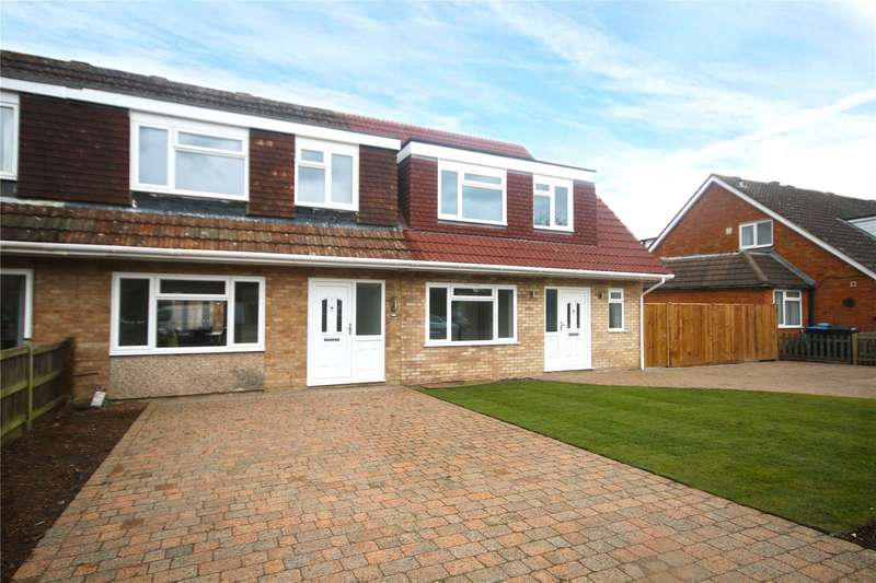 3 Bedrooms Terraced House for sale in Canford Drive, Addlestone, Surrey, KT15