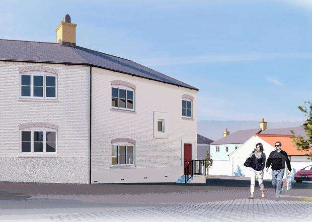 2 Bedrooms Semi Detached House for sale in Quintrell Road, Newquay, Cornwall