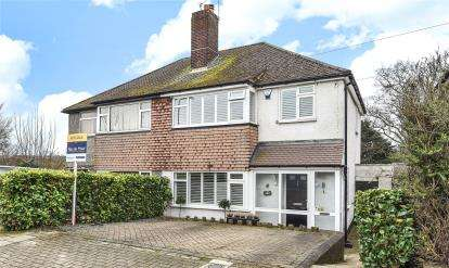3 Bedrooms Semi Detached House for sale in Lockesley Drive, Orpington
