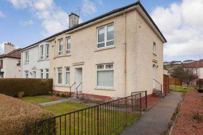 2 Bedrooms Flat for sale in Locksley Avenue, Knightswood