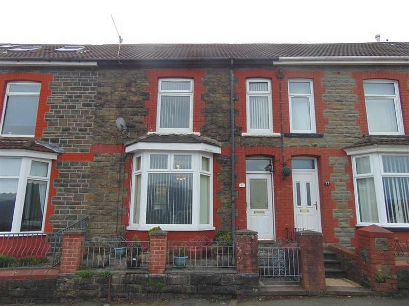 3 Bedrooms Terraced House for sale in Lanwern Road, Pontypridd