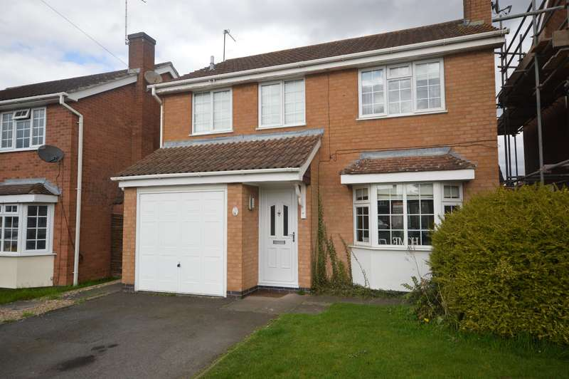 4 Bedrooms Detached House for sale in Burnham Drive, Whetstone, LE8 6HY