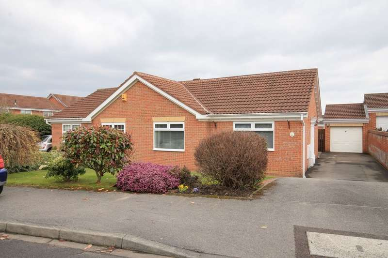 2 Bedrooms Semi Detached Bungalow for sale in Elsdon Close, Chester Le Street, DH2