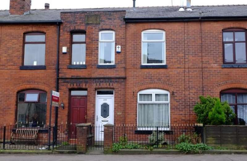 2 Bedrooms Terraced House for sale in Milnrow Road, Rochdale