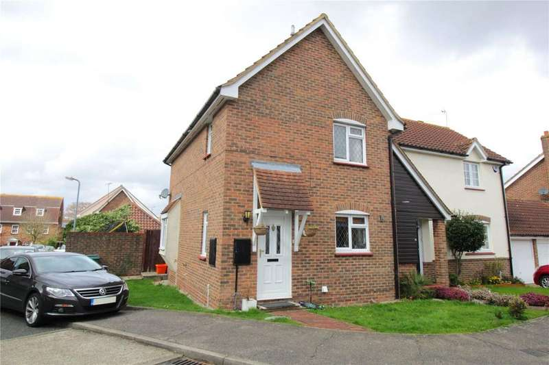 3 Bedrooms Semi Detached House for sale in Bowfell Drive, Langdon Hills, Essex, SS16