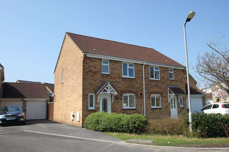 3 Bedrooms Semi Detached House for sale in Crane Close, Verwood