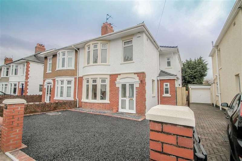 4 Bedrooms Semi Detached House for sale in Kyle Crescent, Cardiff