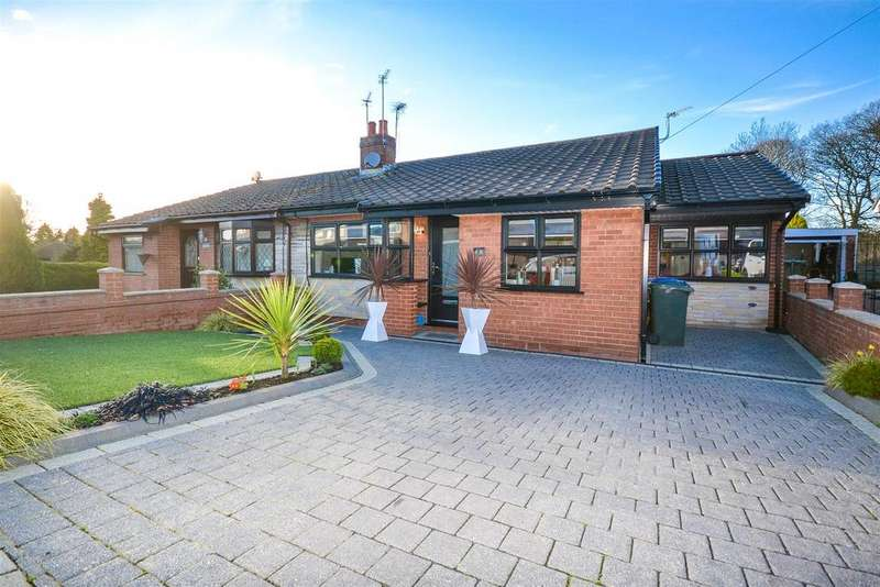 3 Bedrooms Semi Detached Bungalow for sale in Walgarth Drive, Chorley