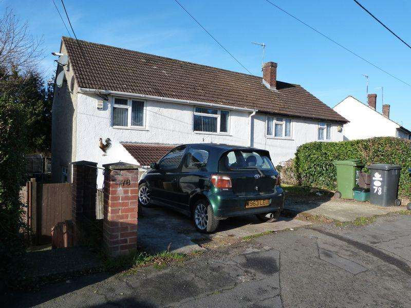 3 Bedrooms Semi Detached House for sale in Holtspur Avenue, High Wycombe