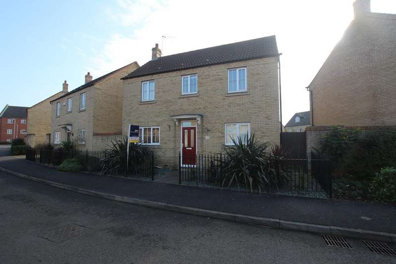 3 Bedrooms Detached House for rent in Columbine Road, Ely