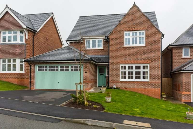 4 Bedrooms Detached House for sale in Goetre Uchaf, Bangor, North Wales