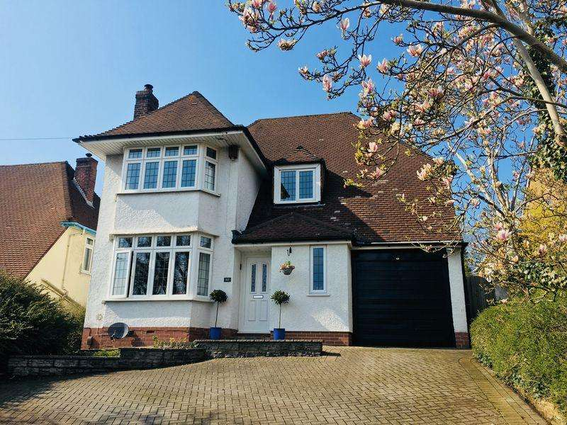4 Bedrooms Detached House for sale in Falcondale Road, Bristol
