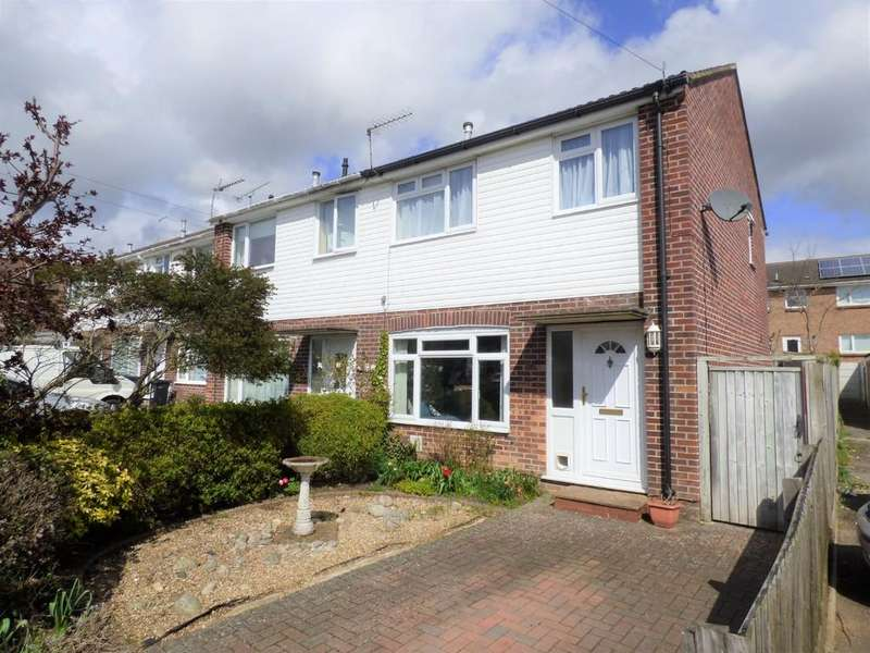3 Bedrooms End Of Terrace House for sale in Llewellin Close, Upton