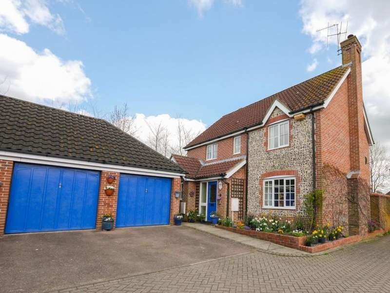4 Bedrooms Detached House for sale in Fulchers Field Framlingham