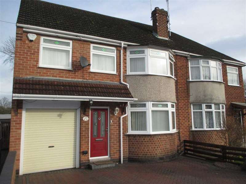 4 Bedrooms Semi Detached House for sale in Greenhills Road, Eastwood, Nottingham