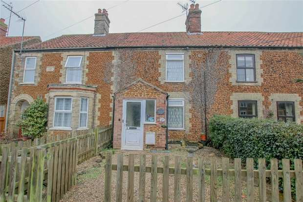2 Bedrooms Terraced House for sale in 3 Lodge Lane, Snettisham
