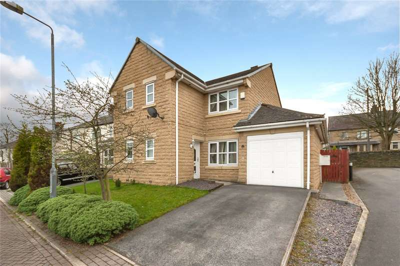 3 Bedrooms Semi Detached House for sale in Oakwood Gardens, Ovenden, HALIFAX, West Yorkshire, HX2
