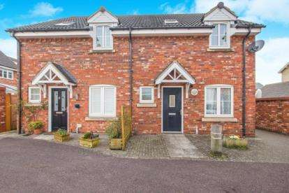 3 Bedrooms Semi Detached House for sale in Camomile Walk, Portishead, Bristol