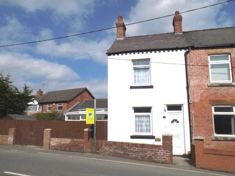2 Bedrooms Semi Detached House for sale in Ewloe Place, Buckley, Flintshire, CH7 3NJ.