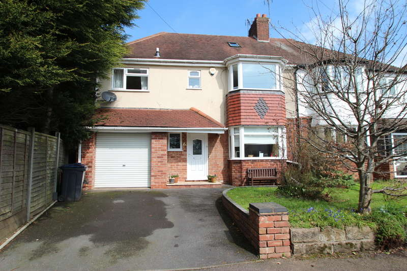 4 Bedrooms Semi Detached House for sale in Yew Croft Avenue, Harborne