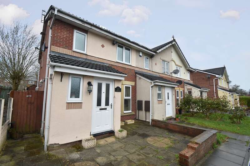 2 Bedrooms Semi Detached House for sale in Oxbow Way, Whitefield, Manchester, M45
