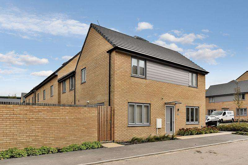 3 Bedrooms End Of Terrace House for sale in Hazel Mead, Central Dunstable