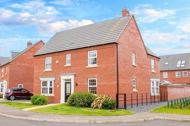 4 Bedrooms Detached House for sale in Charley Close, Market Harborough, LE16