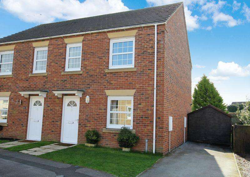 3 Bedrooms Semi Detached House for sale in 2 Post Mill Close, North Hykeham