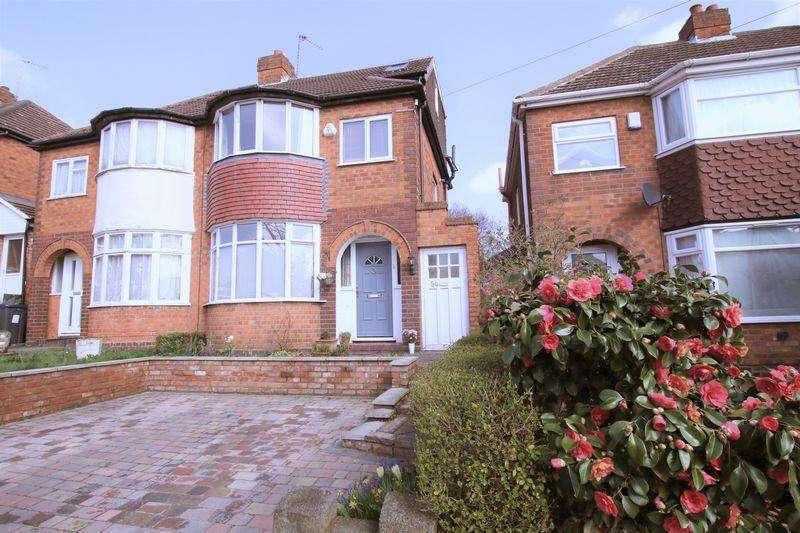 3 Bedrooms Semi Detached House for sale in Sandringham Road, Birmingham