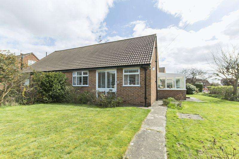 3 Bedrooms Semi Detached Bungalow for sale in BONSALL DRIVE, MICKLEOVER