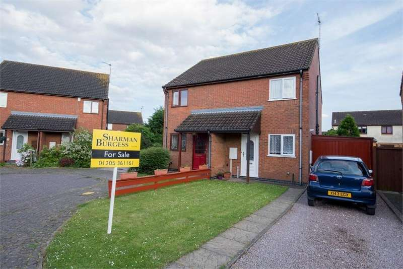 2 Bedrooms Semi Detached House for sale in Ladds Close, Fishtoft, Boston, Lincolnshire
