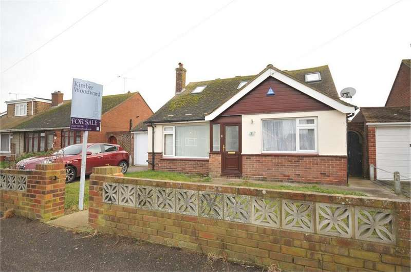 3 Bedrooms Detached Bungalow for sale in Clare Drive, Greenhill, Herne Bay, Kent