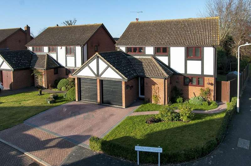 4 Bedrooms Detached House for sale in Shapland Close, Beltinge, Herne Bay, Kent