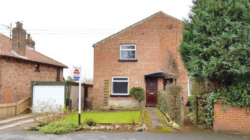 2 Bedrooms Semi Detached House for sale in Northgate, Hunmanby