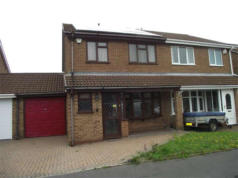 3 Bedrooms Semi Detached House for sale in REDLIFF AVENUE, CASTLE BROMWICH