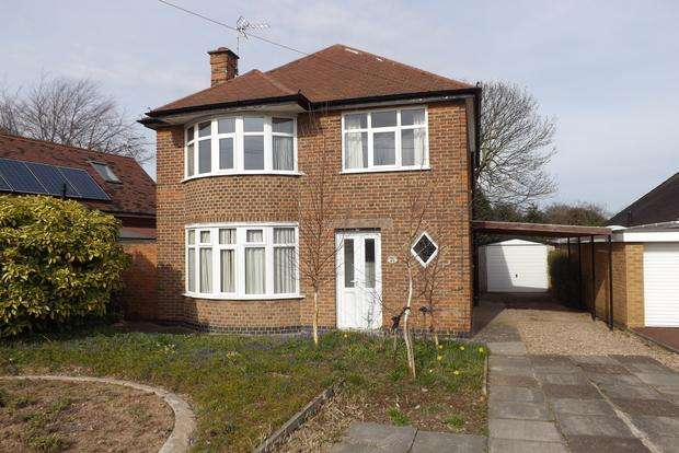 3 Bedrooms Detached House for sale in Wroxham Drive, Wollaton, Nottingham, NG8