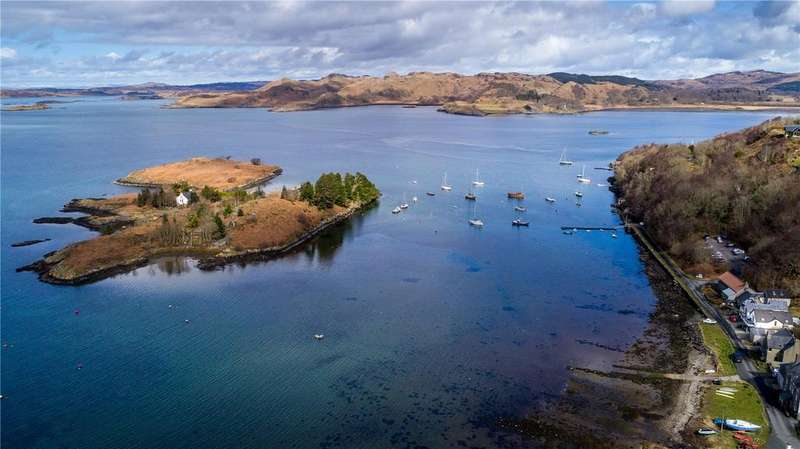 2 Bedrooms Unique Property for sale in The Boathouse, Crinan, Lochgilphead, Argyll, PA31