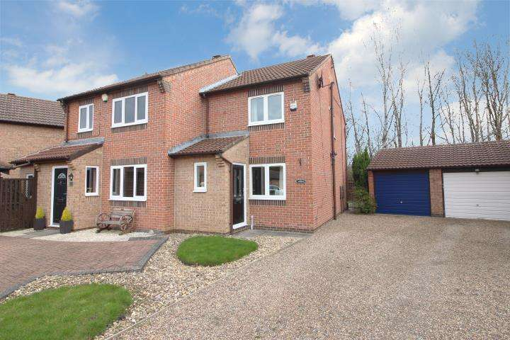 2 Bedrooms Semi Detached House for rent in Argus Close, Gateshead