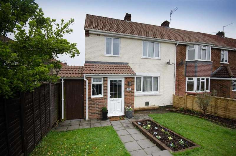 3 Bedrooms End Of Terrace House for sale in Streamside, Mangotsfield, Bristol, BS16 9DZ