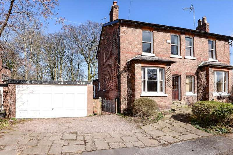 3 Bedrooms Semi Detached House for sale in Hawthorn Grove, Wilmslow, Cheshire, SK9