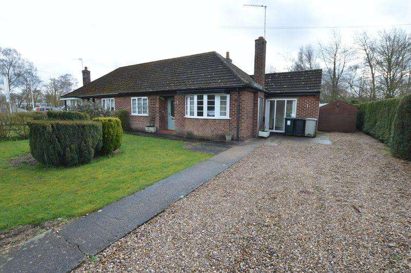 2 Bedrooms Semi Detached Bungalow for sale in 47 Sleaford Road, Tattershall