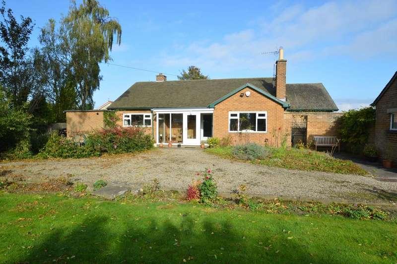 3 Bedrooms Detached Bungalow for sale in Lascelles Lane, Old Malton, Malton YO17