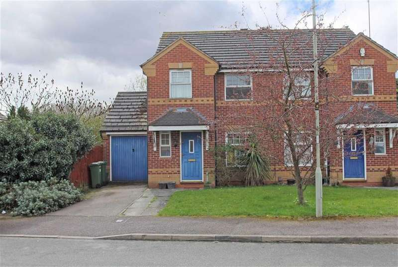 3 Bedrooms Semi Detached House for sale in Nether Field Way, Thorpe Astley, Leicester