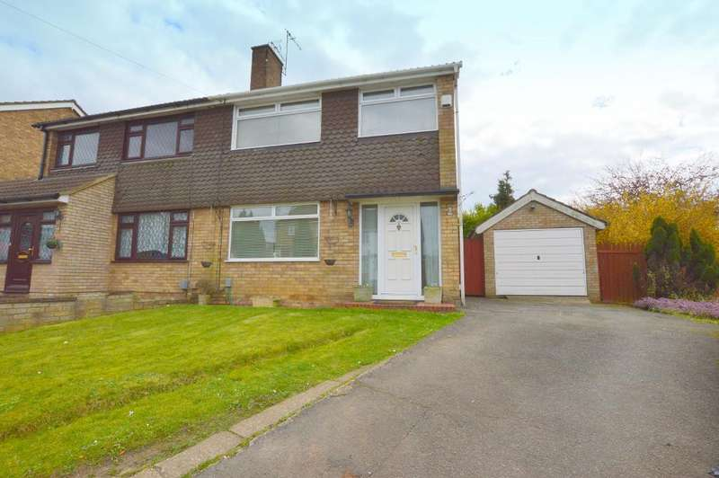 3 Bedrooms Semi Detached House for sale in Handcross Road, Stopsley, Luton, LU2 8JF